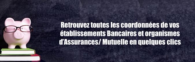 contact banque assurance