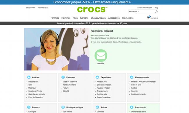 site crocs