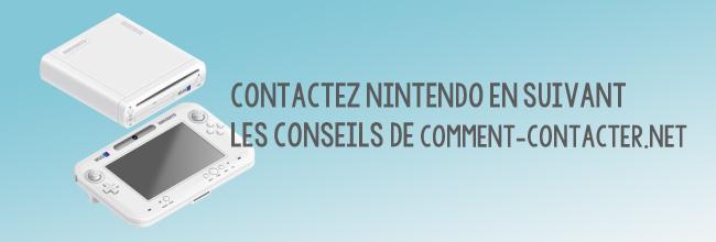 Contact Nintendo