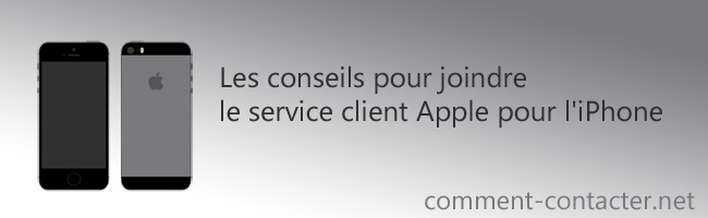 Service client Iphone