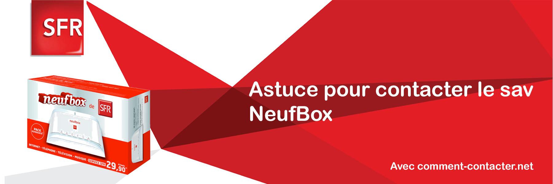 numero telephone service client neufbox