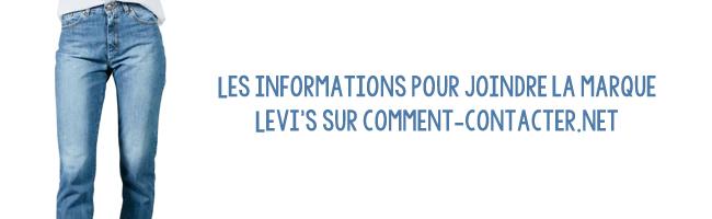 service client Levi's