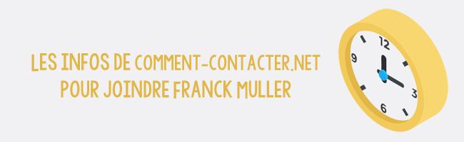 Franck Muller Contact