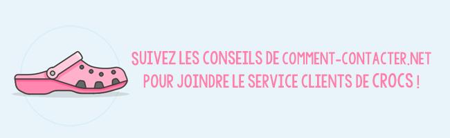 Service clients Crocs