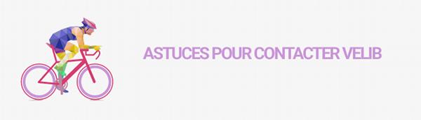 astuces contact velib