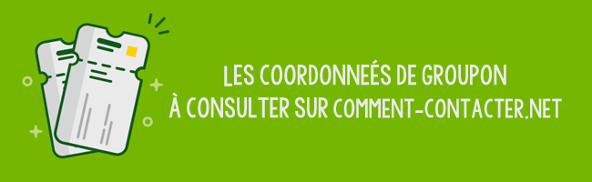 Coordonnees Groupon