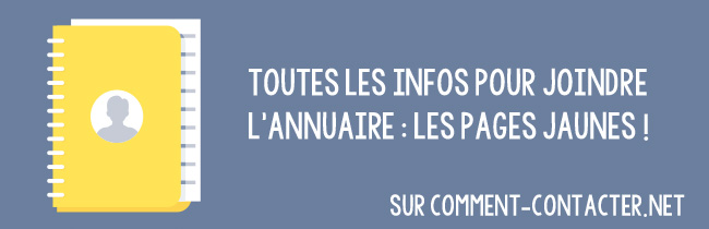 Contact Pages jaunes